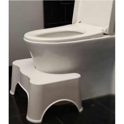 Healthy Squatty Bathroom Toilet Stool (White)