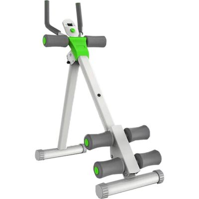 5 min Six Pack Abdominal Shaper Stretching Power Plank Cruncher (White Green)