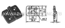 HINGE FOR PROFILE 20 X 20 Hinge  Aluminium Profile Accessories