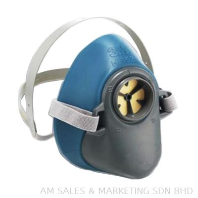 3M HF-52 Respirator Single Cartridge Half Facepiece (OHRESMM1100030)