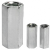 CHROME HEXAGON LONG NUT Fastener