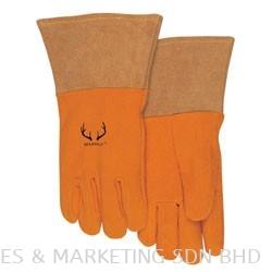 Weldas® DEERSOsoft® Prestigious TIG/MIG Gloves 10-2327 Size S