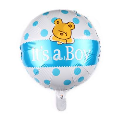 "Foil 18"" it's a Boy - Bear"