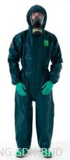 MG4000 MICROCHEM MODEL 111 COVERALL SIZE M GREEN (OHBDYMG4500028) Microgard Body Protection Safety Products