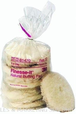 3M™ Finesse-it™ Natural Buffing Pad 81470