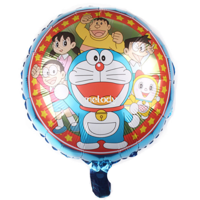 "Foil 18"" Doraemon Group"