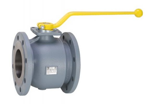 FLANGED GAS BALL VALVE