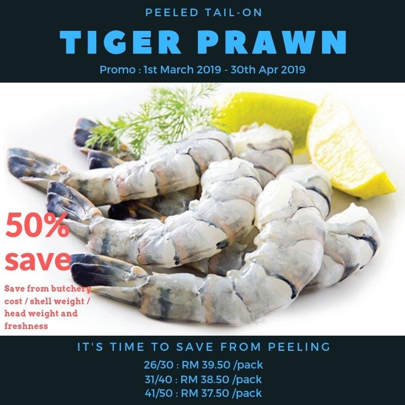 Tiger Prawn PTO Promo