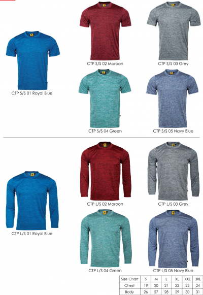 TWO-TONE TEE (CATIONIC)