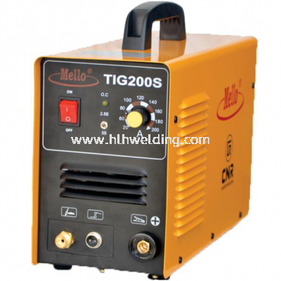 Mello Inverter TIG Welding Machine 10-200Amp, 9kg TIG200S