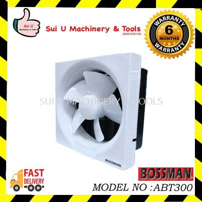BOSSMAN ABT300 Wall-Mounted Ventilation Fan 12""