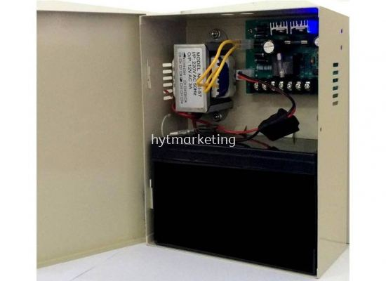 12V Power Supply with Backup Battery