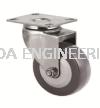 Plate Swivel Wheel  Castor Wheel Aluminium Profile Accessories