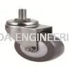 Threaded Swivel Wheel Castor Wheel Aluminium Profile Accessories