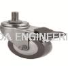 Threaded Brake Wheel  Castor Wheel Aluminium Profile Accessories