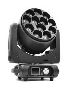 HDJ M-YL1240 12x40W LED Moving Head Light With Zoon 550W