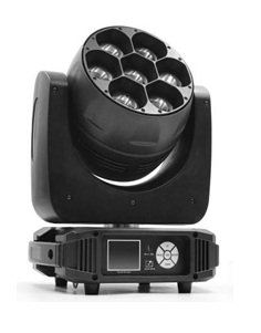 HDJ M-YL740 7 x 40W LED Moving Head Light With Zoom