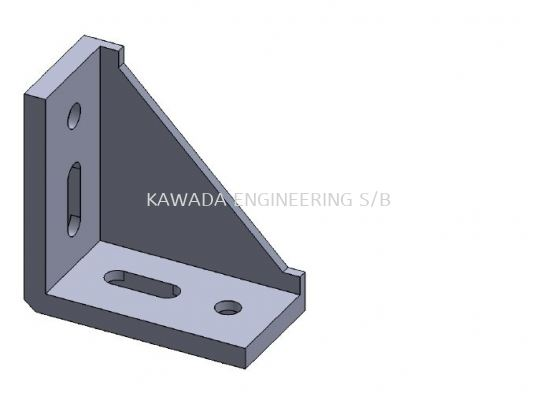 BRACKET FOR PROFILE 40 X 80