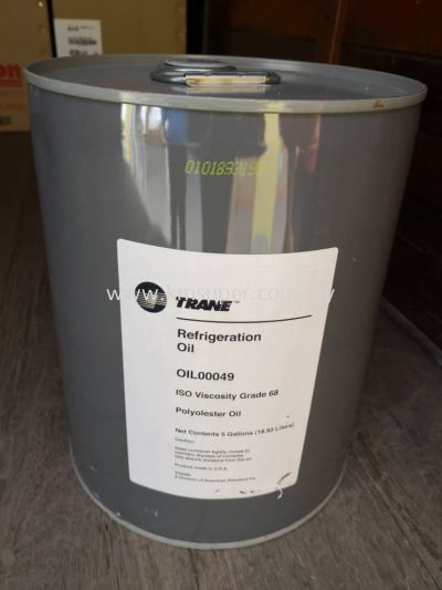 TRANE COMPRESSOR OIL OIL00049 - 5 GALLON (18.9LTR)