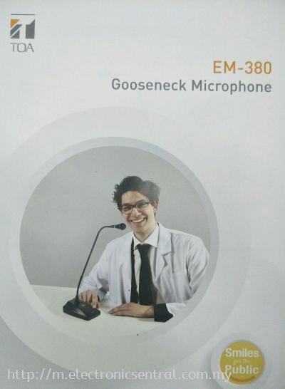 EM 380 GOOSENECK MICROPHONE