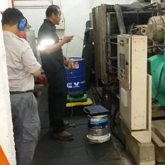 Troubleshooting attend by Cummins Malaysia