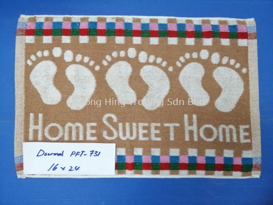 PFT-731 HOME SWEET HOME FLOOR MAT (16X24)