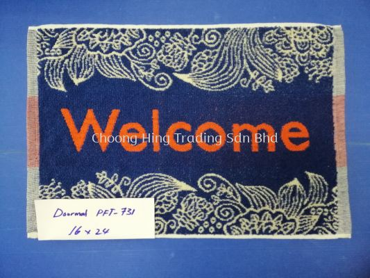 PFT-731 WELCOME FLOOR MAT (16X24)