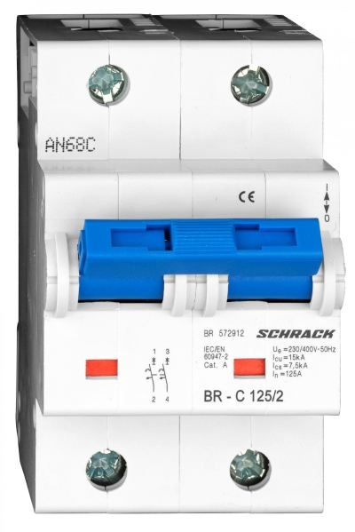 Miniature Circuit Breaker 2 Pole , BR Series