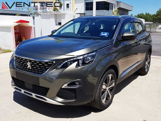 PEUGEOT 3008 17Y-ABOVE = VENTTEC DOOR VISOR