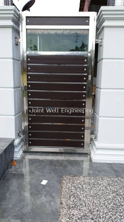 Stainless Steel Open Door