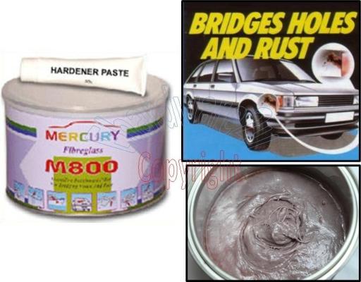 Mercury M800 Fibreglass w/Hardener