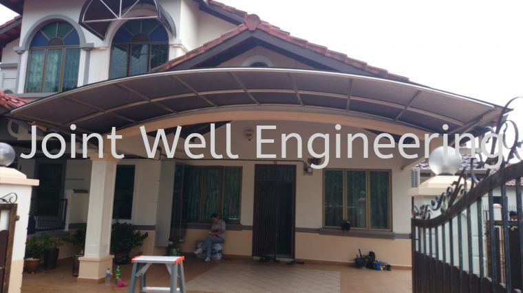 Awning Polycarbonat Stainless Steel Awning