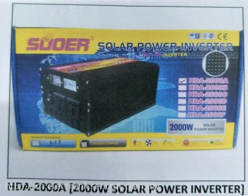 2000W SOLAR PWR INVERTER