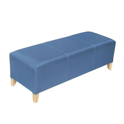 Simple and Domain Designer Ottoman Bench Sofa with 9 different colors in 3 sizes (S,M,L)
