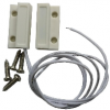 SQUARE MAGNETIC CONTACT WIRE DOOR SENSOR Alarm Accessories Alarm Systems