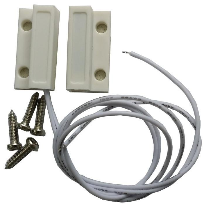 SQUARE MAGNETIC CONTACT WIRE DOOR SENSOR