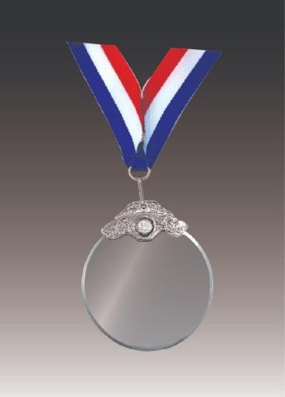 CRT0002FW Crystal Medal