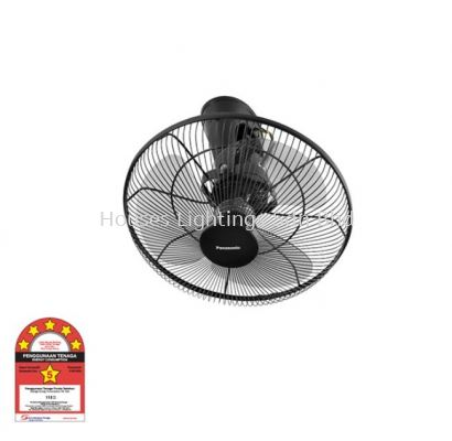 Panasonic Oscillation Fan F-MQ409 DGY (16 inch) 5-Speed On/Off