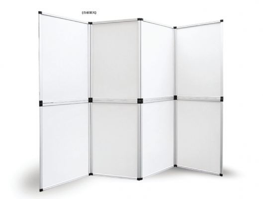 Folding Panel Display (White Board)