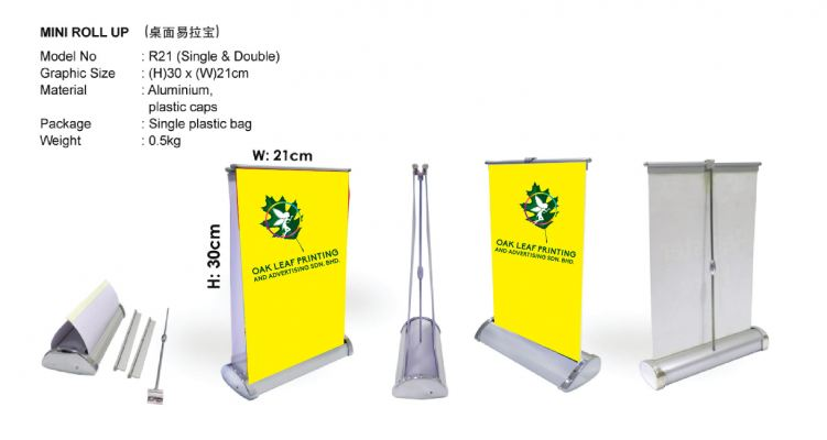 Mini Table Roll Up Stand