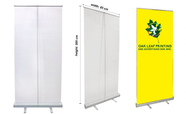 85cm Roll Up Stand