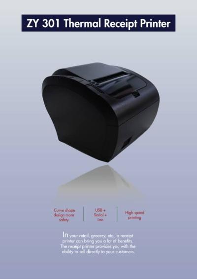 ZY 301 Thermal Receipt Printer