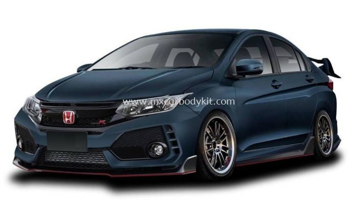 HONDA CITY 2017 TYPE R BODYKIT WITH SPOILER