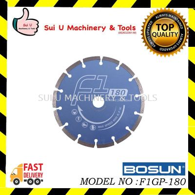 "Bosun Diamond Blades 7""-F1GP-180"