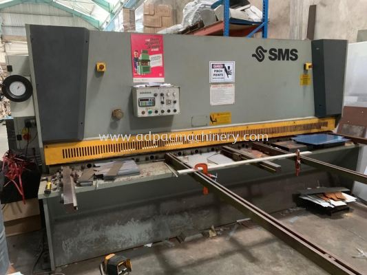 "Used ""SMS"" hydraulic Shearing Machine / Cutting Machine"