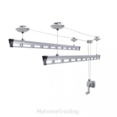 GW8300 Aluminium Lifting Ceiling Hanger Drying Bars