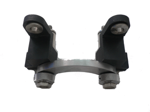Universal pulley component with screw c