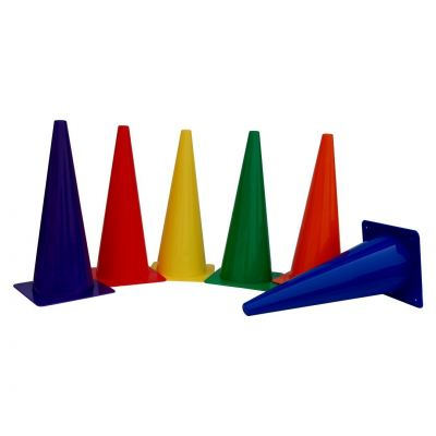 "XYS004 15"" Skittle Cone (6/set)"