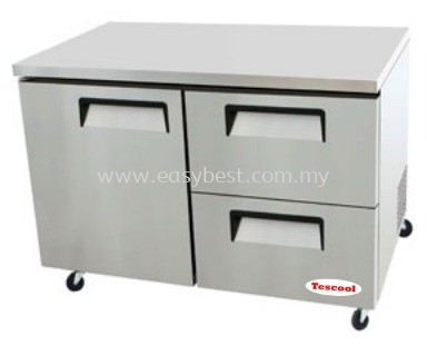 Single Door Drawer W/ Under Counter Refrigerator