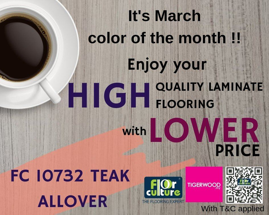 March Color of The Month